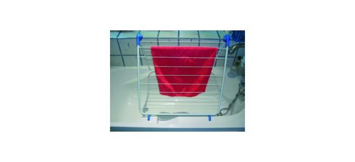 Séchoir baignoire 10 m renforcé tancarville MSV - séchoir à linge salle de bain