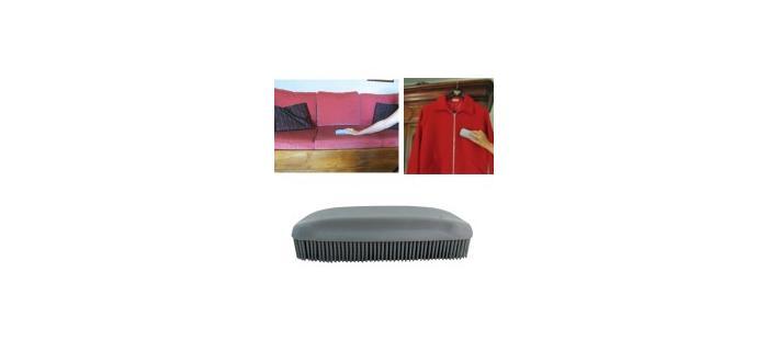 Brosse caoutchouc pour  vêtements et textile d'ameublement - brosse vêtements - 14,5 x 5 x 3.5 cm