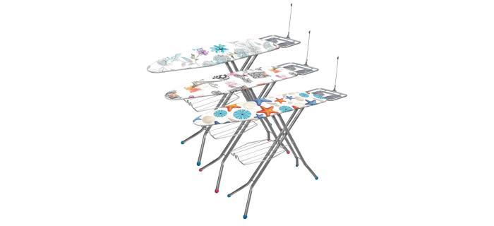 Table à repasser spéciale vapeur FRANDIS - planche à repasser vapeur - 122 x 38 cm
