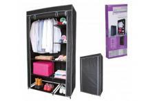Armoire Penderie de Rangement pour Vêtements - Étagère vêtements et chaussures - 100 x 50 x 170 cm