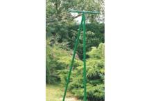 Étendoir jardin 40 m Tancarville 6 fils - séchoir à linge extérieur FRANDIS - Etendoir à linge terrasse jardin